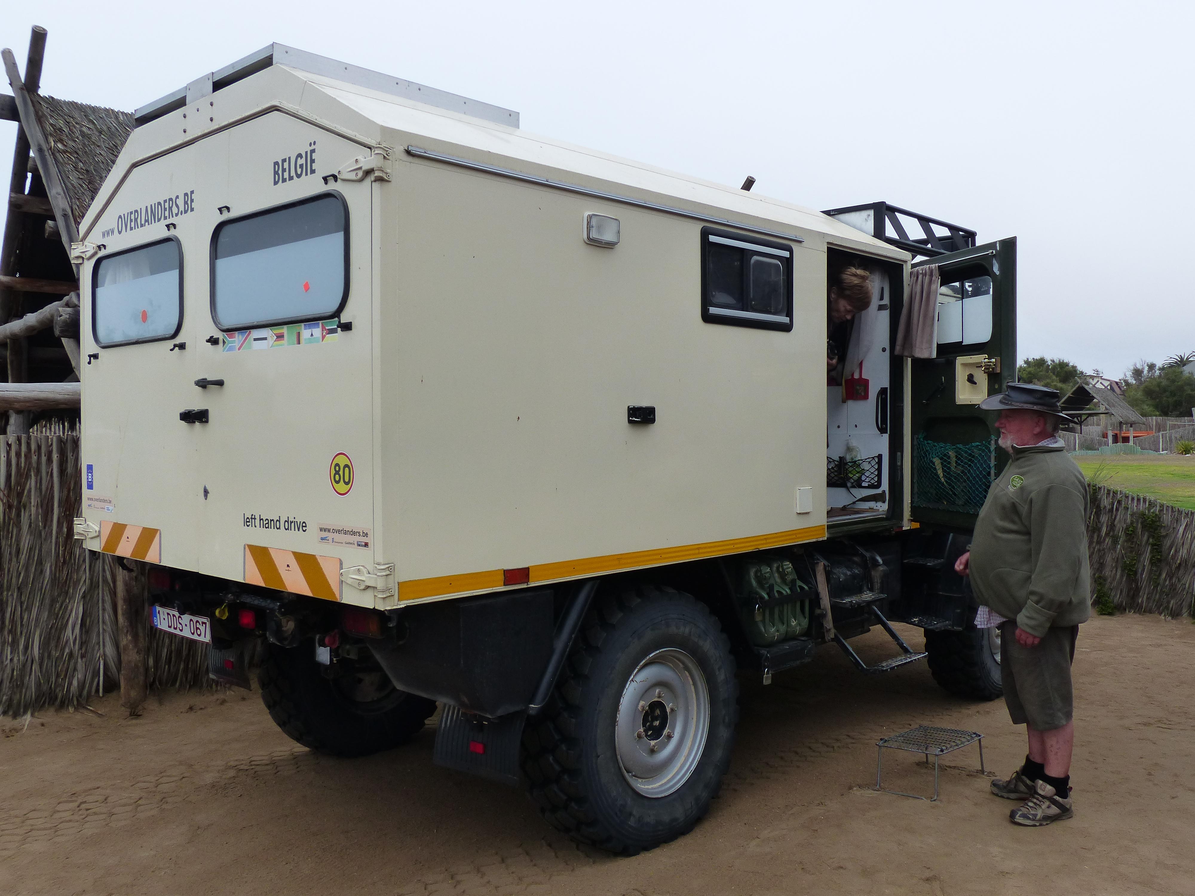 Overland Vehicles   lorrywaydown